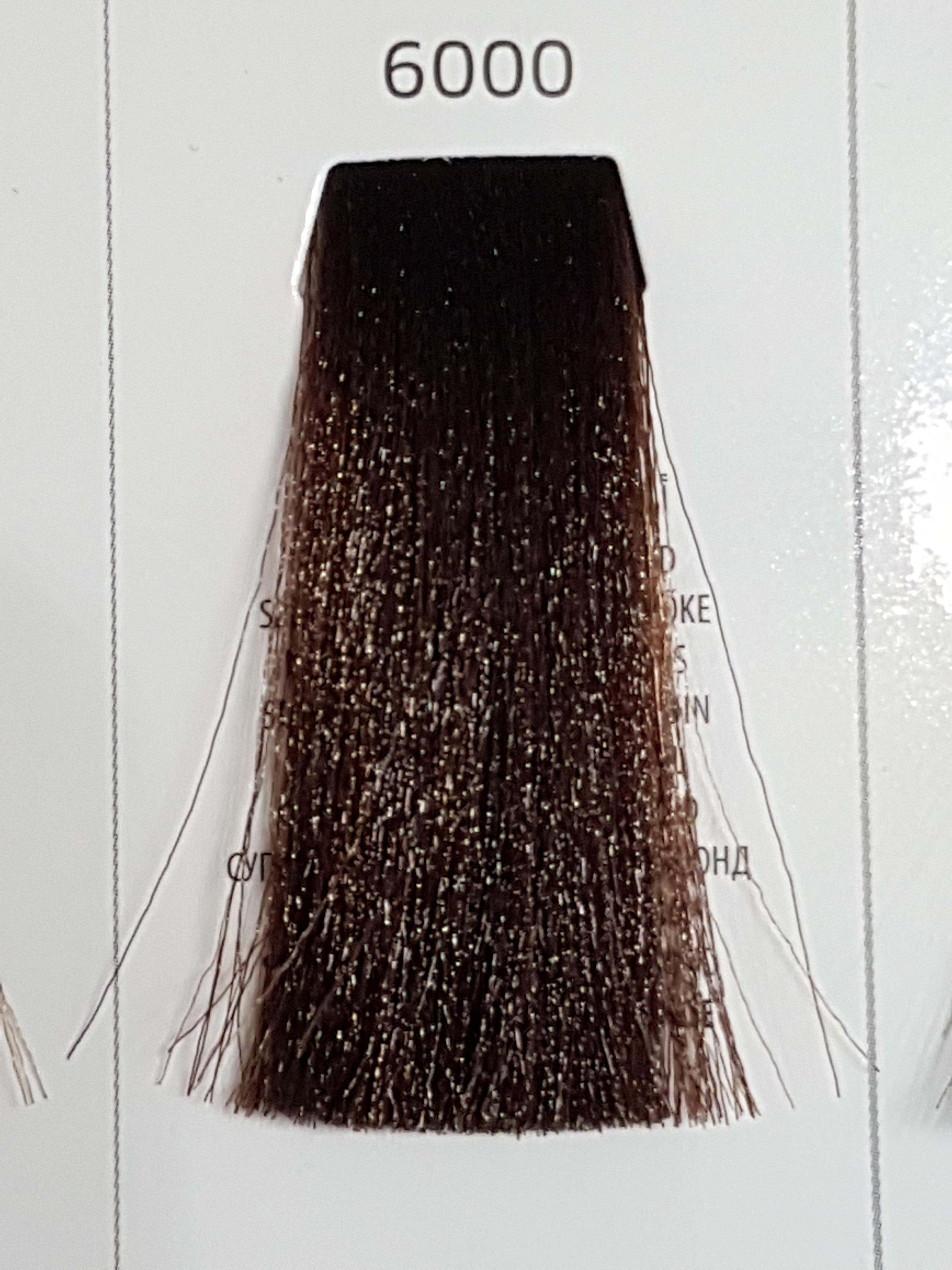 Barva na vlasy  Milaton  Professional  6000  100ml