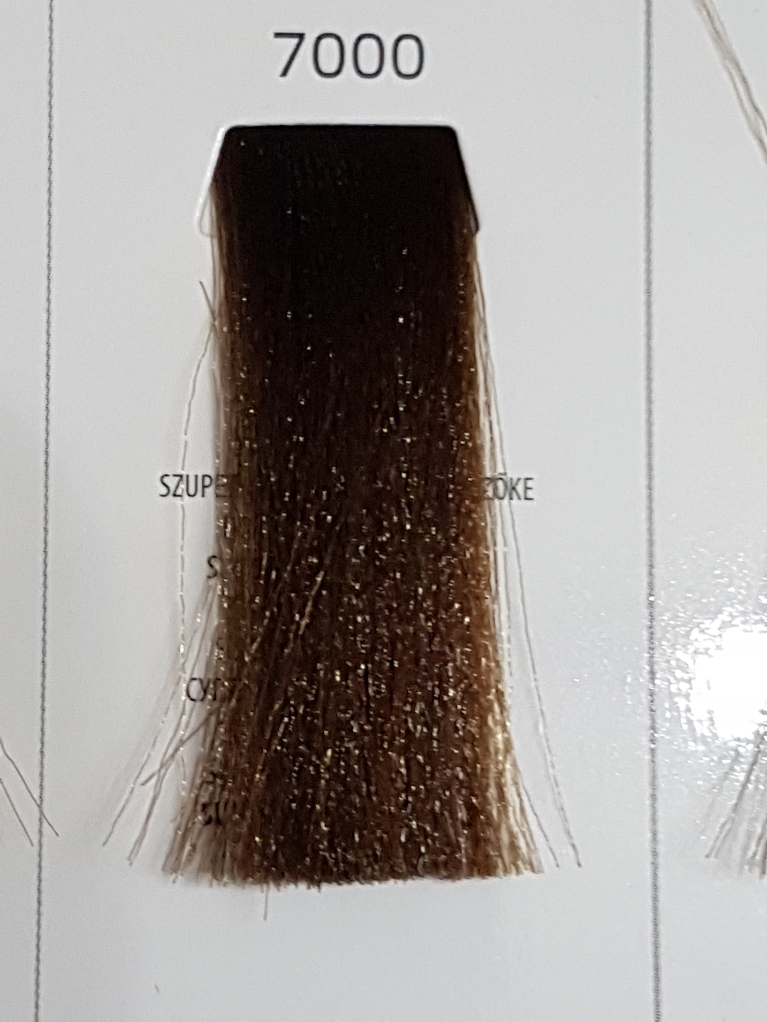 Barva na vlasy  Milaton  Professional  7000  100ml