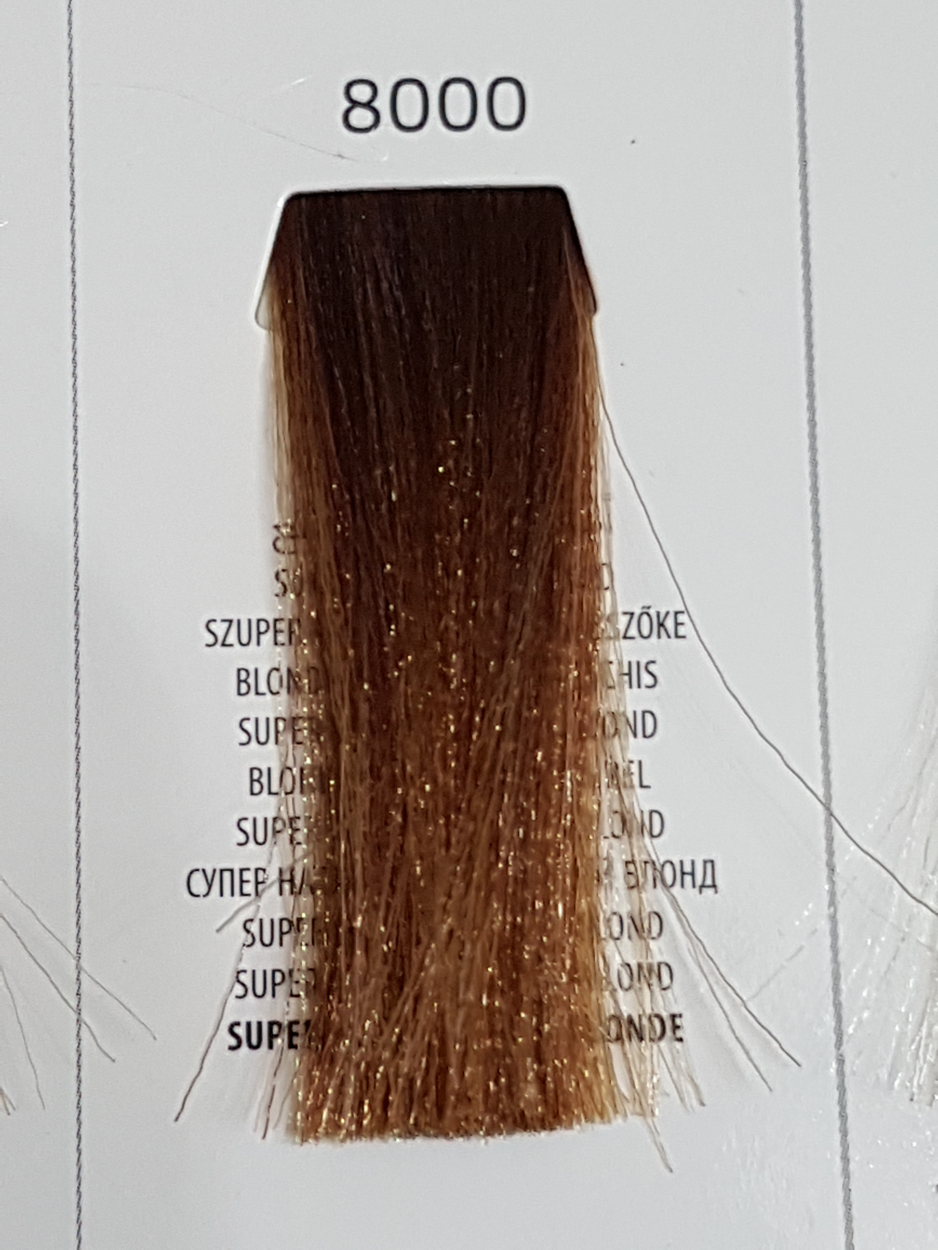 Barva na vlasy  Milaton  Professional  8000  100ml