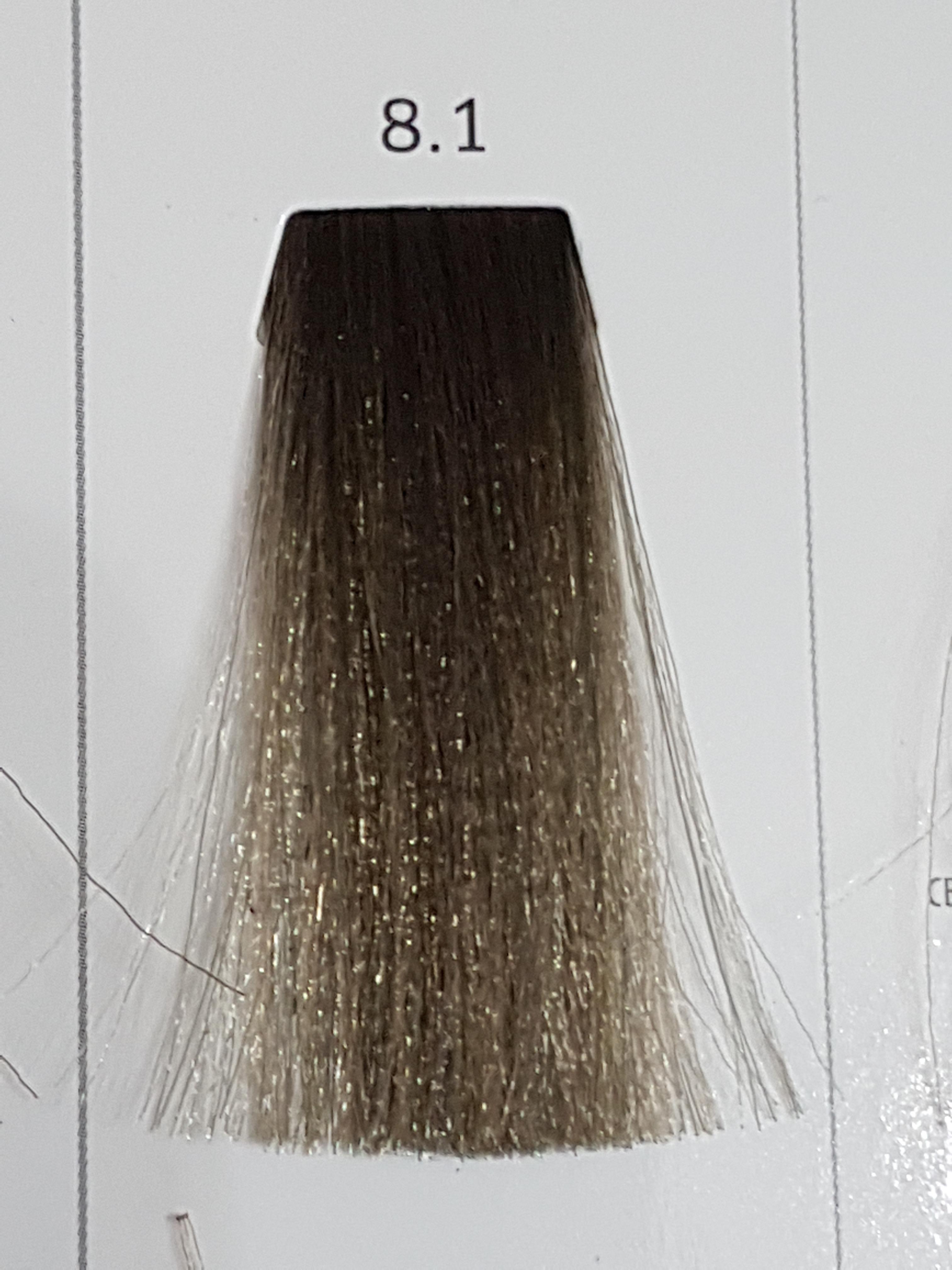 Barva na vlasy  Milaton  Professional  8.1  100ml