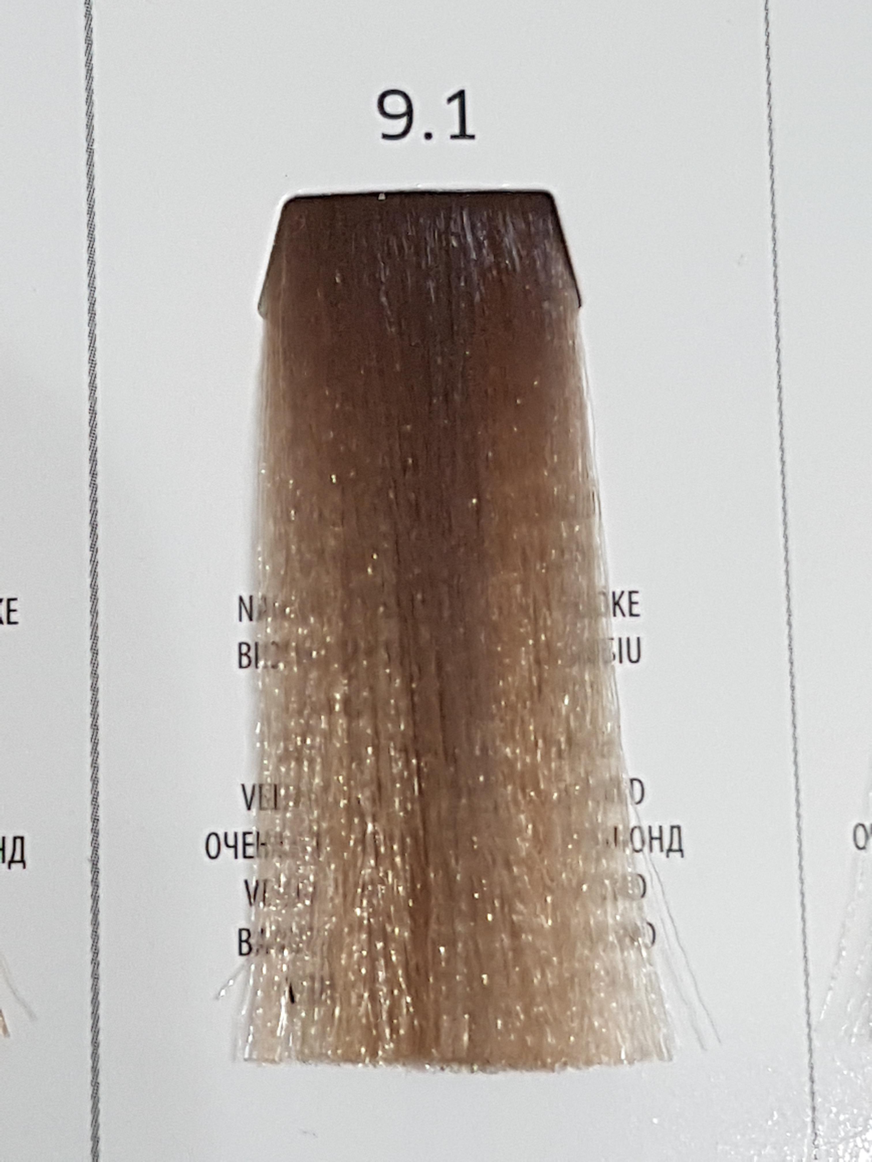 Barva na vlasy  Milaton  Professional  9.1  100ml