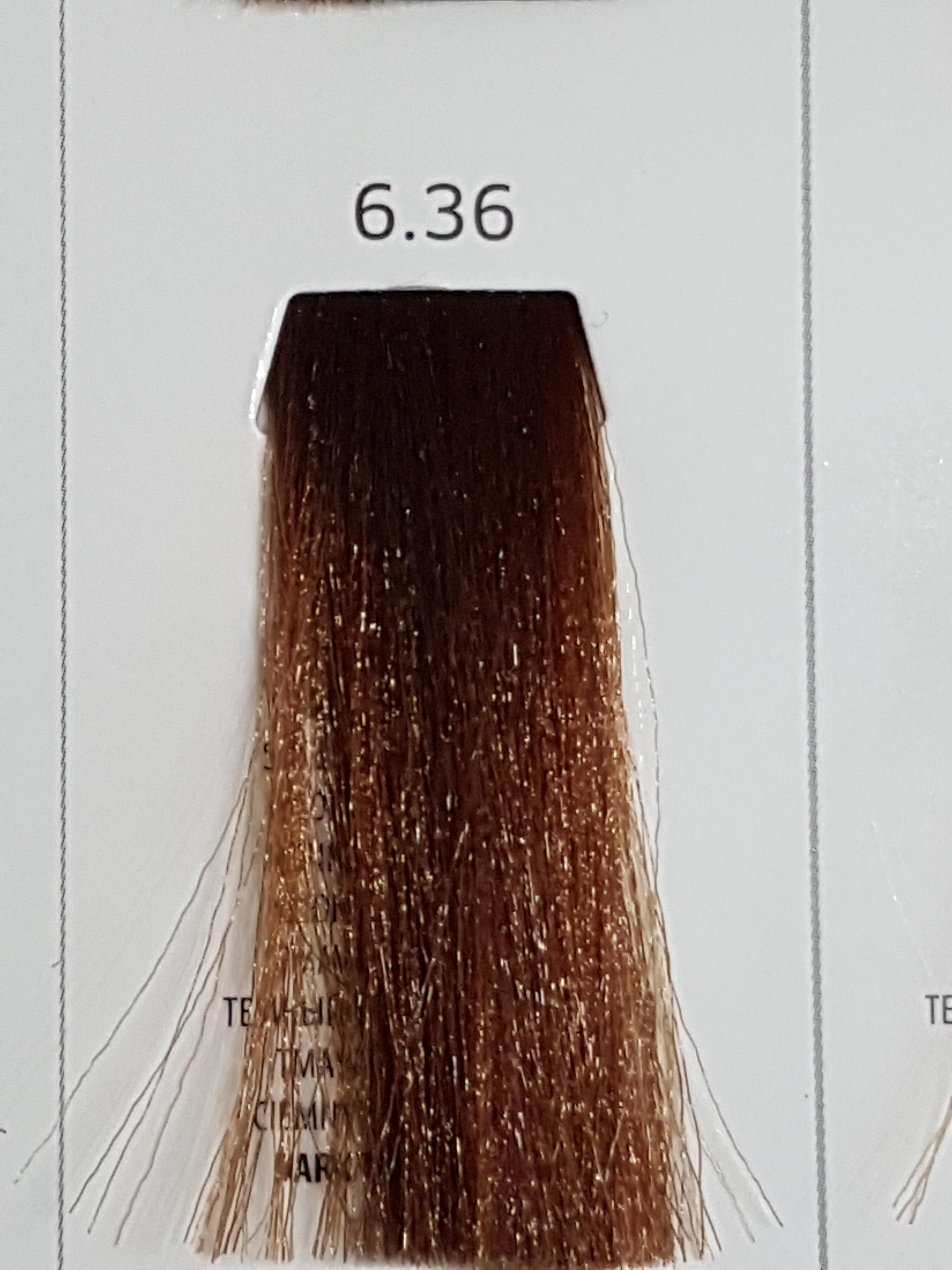 Barva na vlasy  Milaton  Professional  6.36   100ml