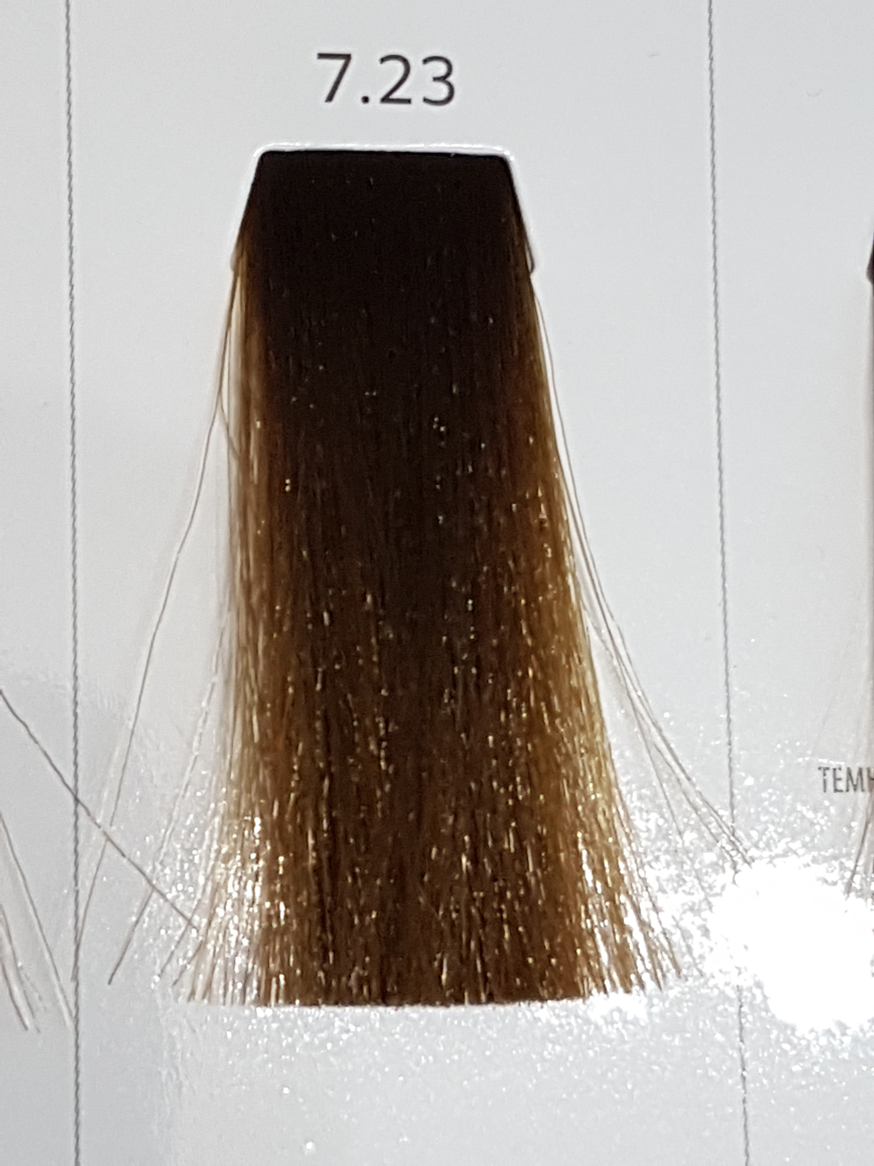 Barva na vlasy  Milaton  Professional  7.23   100ml