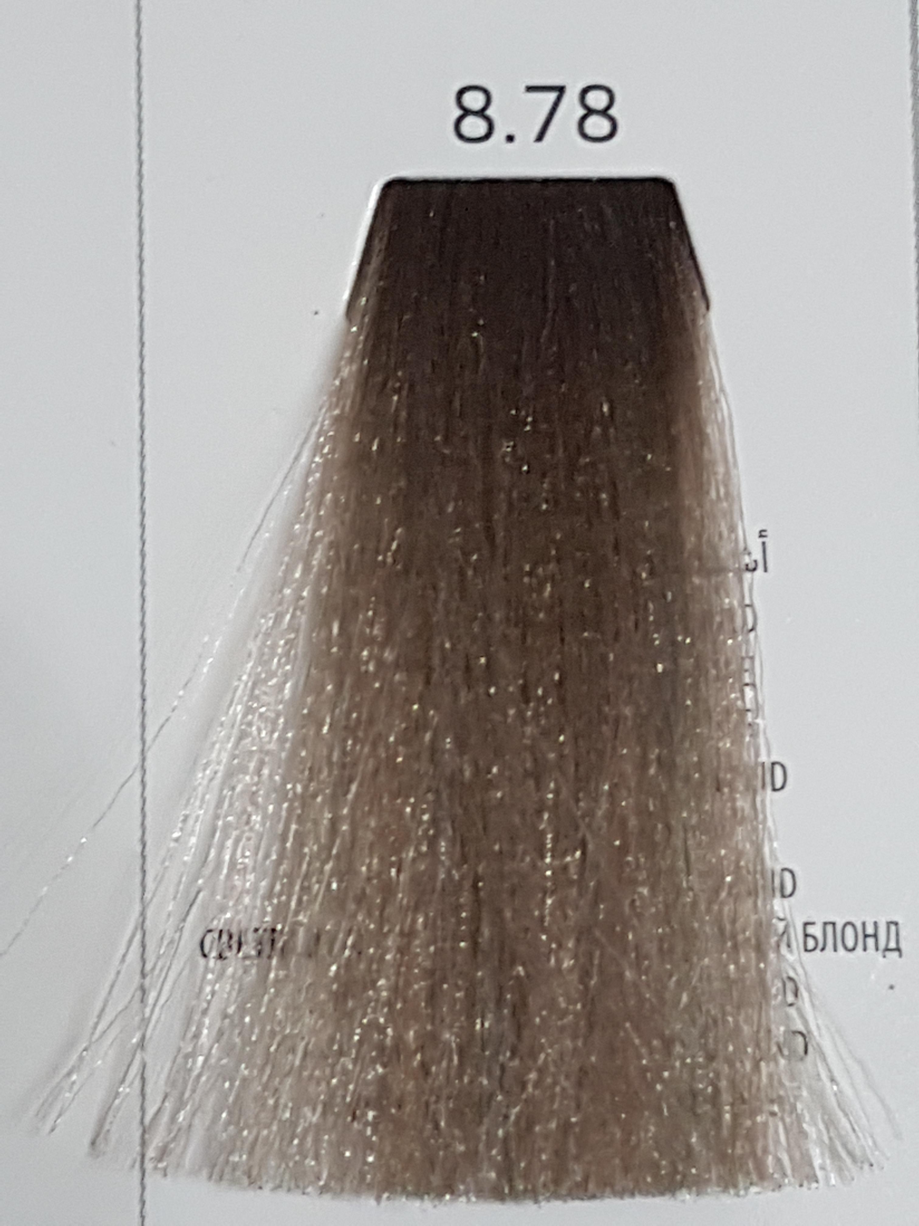 Barva na vlasy  Milaton  Professional  8.78   100ml