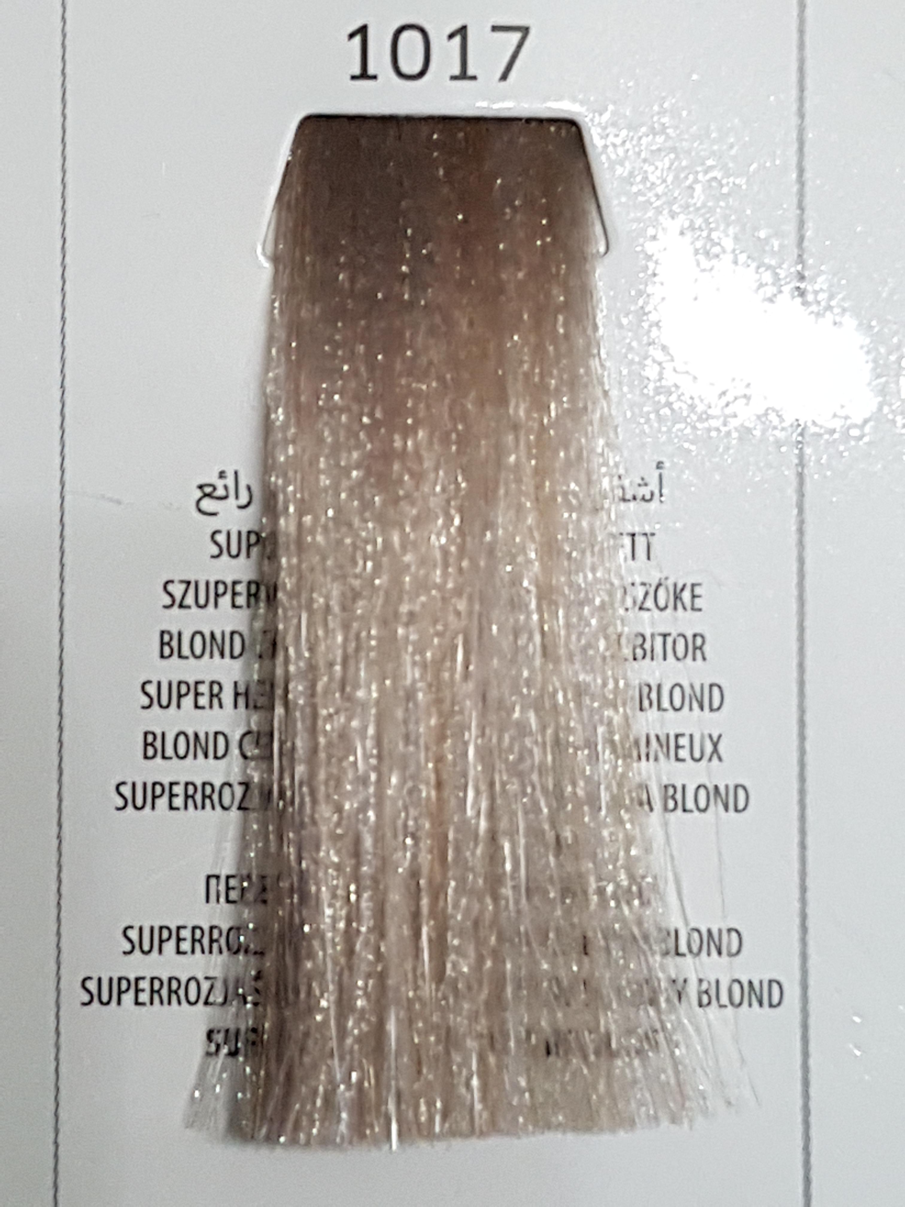 Barva na vlasy  Milaton  Professional  1017    100ml