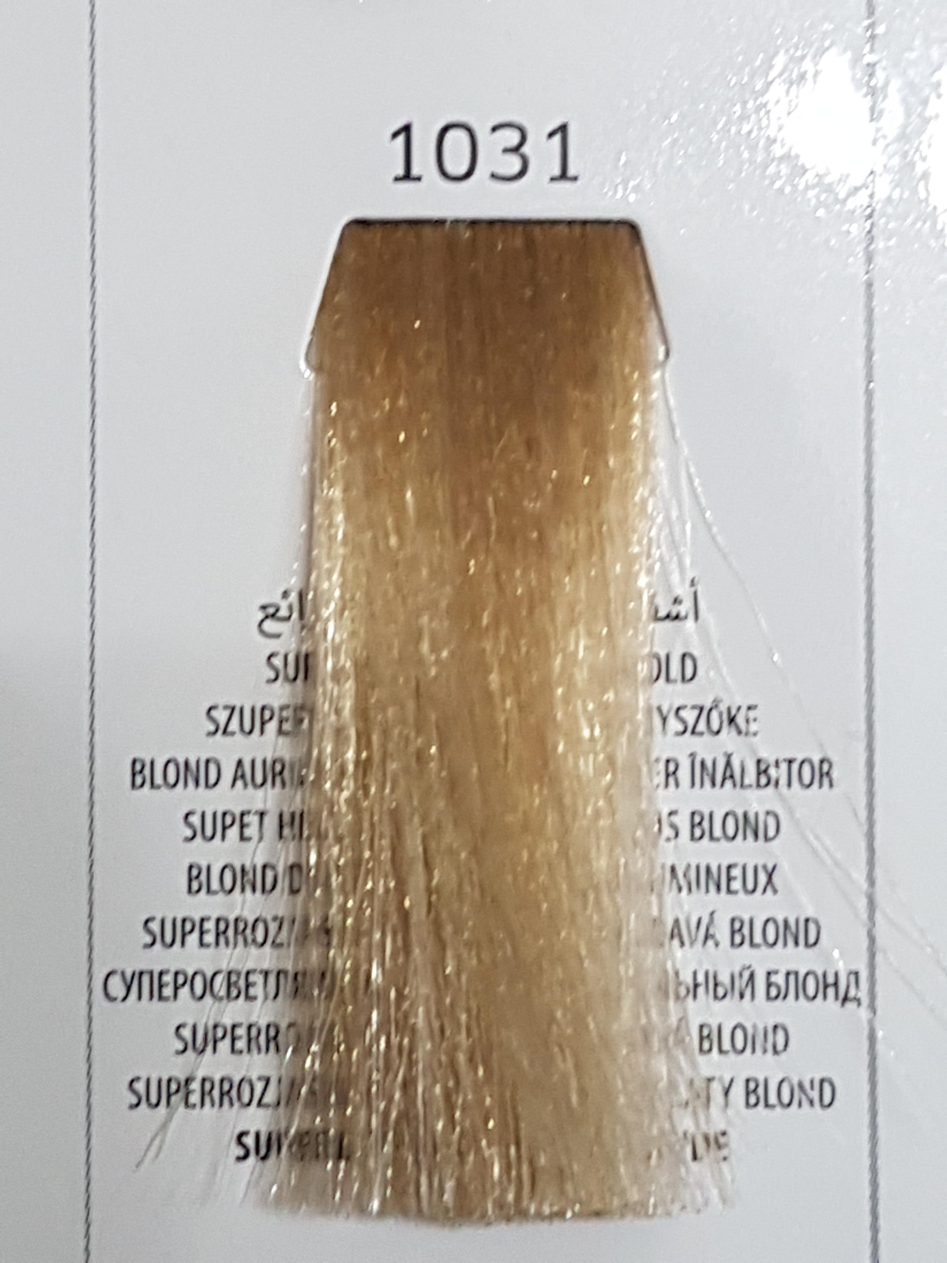 Barva na vlasy  Milaton  Professional  1031     100ml