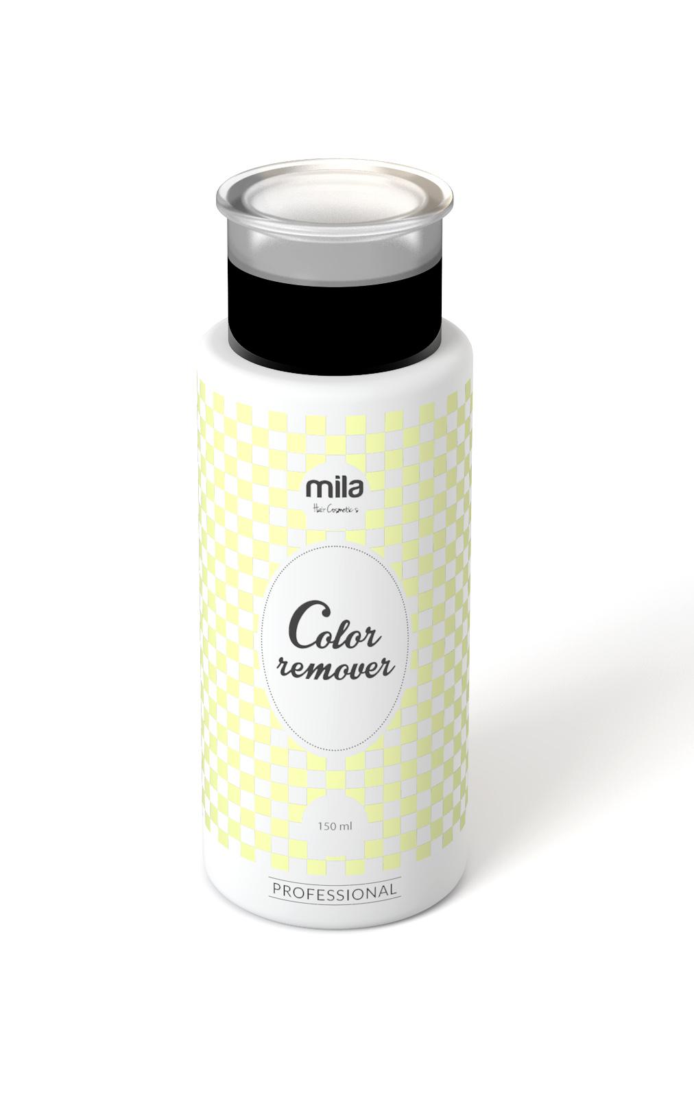 Odstraňovač barvy mila professional 150ml