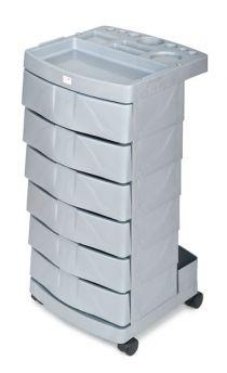 Kadeřnický vozík FOX šedý