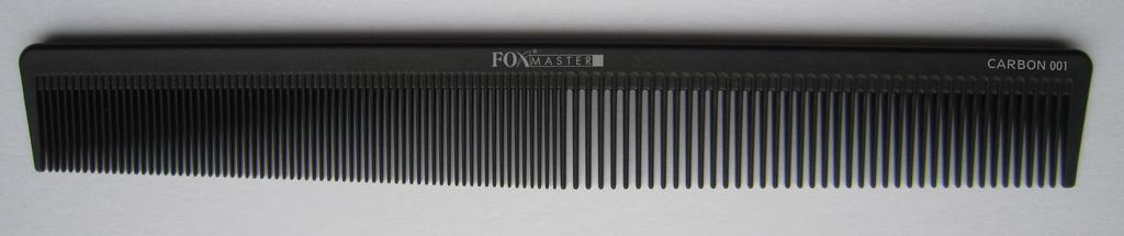 Kadeřnický hřeben na vlasy Fox Master 001 carbon