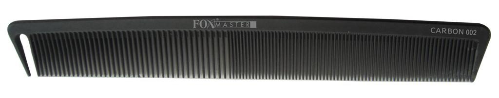 Kadeřnický hřeben na vlasy Fox Master 002 carbon