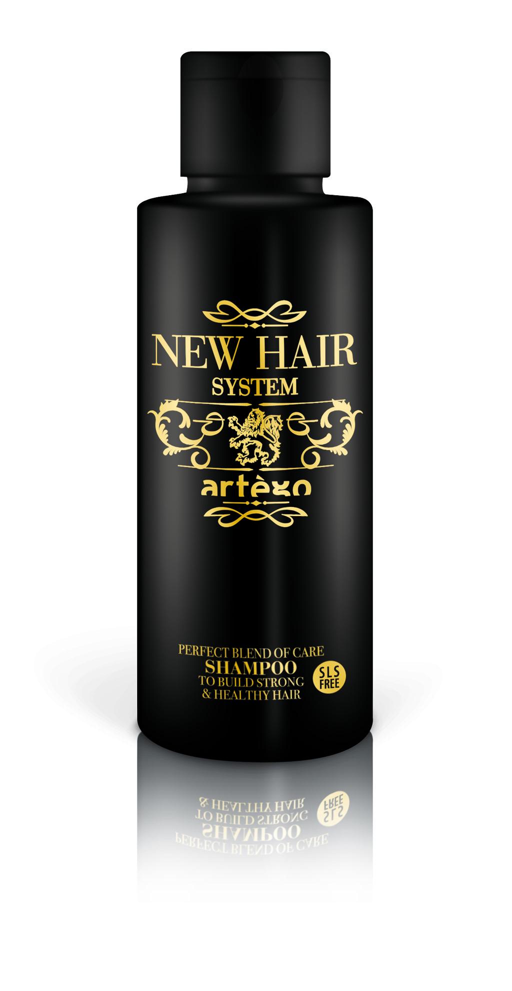 ARTÉGO Šampon na vlasy  NHS s dlouhodobým účinkem 100ml